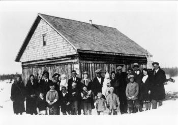 Ph9 8 21 Familles Et Personnages Arrivée Des Premiers Colons En 1932 Famille Ernest Gosselin Georges Moore Ovide Nad1